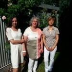 Elke, Anja und Anne Sophia