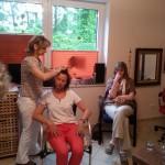 Haare fertigen